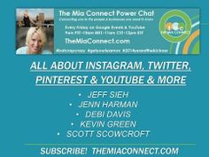 The Mia Connect Power Chat #Instagram, #Pinterest, #YouTube  Find more H.O.A.s at www.HOAShows.com