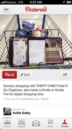 Shopping made easy with thirty one