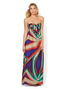 silk maxi dress on sale today for $139 (normally $440)