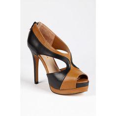 Sole Society 'Neve' Platform Sandal ($33) via Polyvore