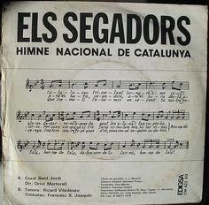 Catalunya triomfant, tornarà a ser rica i plena...