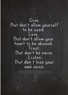 Don't lose your own voice