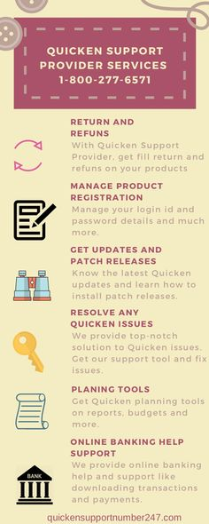 23 Best Quicken Support Phone Number | 1-800-277-6571 images