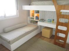 """Visit our web site for additional details on """"bunk bed designs boys"""". It is actually an outstanding place for more information. Bunk Beds For Boys Room, Bunk Bed Rooms, Kid Beds, Kids Bedroom, Bedroom Decor, Sleepover Room, Ikea Bed Hack, Bunk Bed Designs, Dream Rooms"""