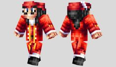 Captain Hook Skin para Minecraft