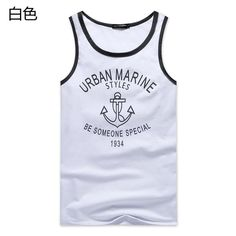 Find More Tank Tops Information about 2015 fashion men's clothing summer style male sleeveless shirts cotton o neck imprinted  vest big size youth single LYQ2130,High Quality fashion ring,China fashion cms Suppliers, Cheap fashion high from Fashion & Plus Size Men's clothing on Aliexpress.com
