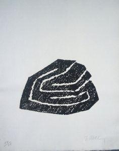 """Raoul Ubac - Alentour de la montagne 16"""",1980, Livre Illustré,  Dimension de l'image 0,0 x 0,0 cm / 0.0 x 0.0 in  Dimension du Papier 28,0 x 38,0 cm / 11.0 x 15.0 in"""