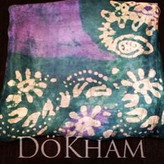Silk Scarf from India $35, available in an assortment of colors #silk #silkscarf #scarf #india #style