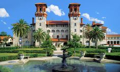 The Lightner Museum, formerly the Alcazar Hotel, is located in historic downtown St. Augustine, Florida