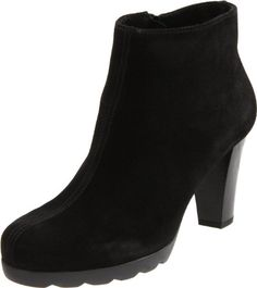 La Canadienne Women's Malin Ankle Boot,Black Suede,7 M US >>> More info could be found at the image url.