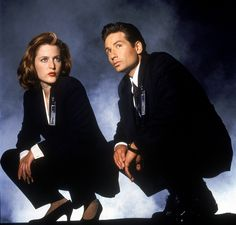 The X-Files! I LOVE Mulder and Scully!