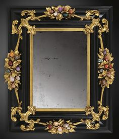 An Italian gilt-bronze-mounted pietre dure and ebony frame, Galleria dei Lavori, Florence late 17th/ early 18th century   SOLD. 169,250 GBP