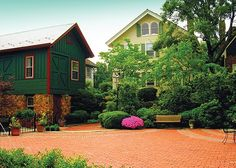 """This small community with a lovely downtown and a top-ranked high school benefits from its """"big city"""" neighbor. This suburb is our top 2016 town in Union county. New Providence, New Jersey, High School, Community, Cabin, Spaces, House Styles, City, Top"""