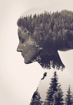 Traditionally the double exposure effect is produced by photographers using nothing but their camera to combine two separate photographs to create an abstract and surreal image. However, we can also m