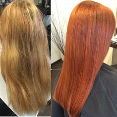 Orange / Red Hair Makeover