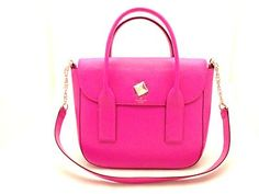 Kate Spade Handbag Leather New Bond Street Florence Pink Satchel