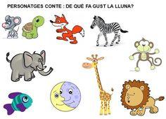 TITELLES: DE QUÈ FA GUST LA LLUNA? Story Cubes, Moon Book, Sistema Solar, Nursery Rhymes, Book Activities, Puppets, Education, Books, Fictional Characters