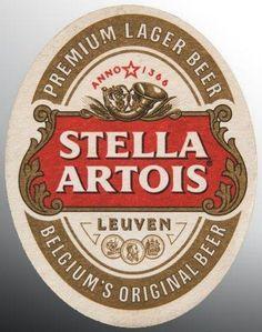 Chile version Stella Artois Beer back in Spanish Vintage Labels, Vintage Posters, Stella Artois Beer, Sous Bock, Belgian Beer, Beer Company, Lager Beer, Beer Coasters, Vintage Metal Signs