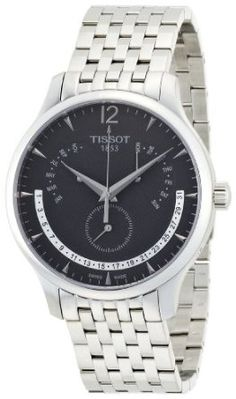 Tissot Mens T063.637.11.067.00 Anthracite Dial Watch