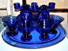 Cobalt Blue Glassware