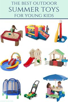 the best outdoor toys for summertime.