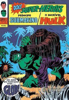 Príncipe Submarino e O Incrível Hulk (Super X) n° 46 - Ebal