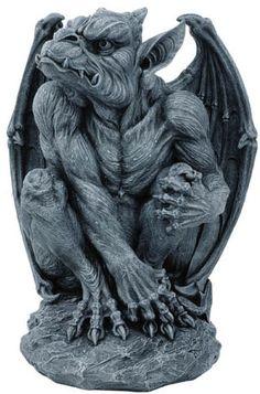 A Gothic Sentinel Gargoyle Garden Sculpture