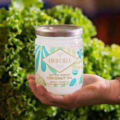 100% raw, unrefined, organicThailand coconut oil • Vegan. Non-GMO. Unbleached.