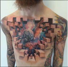 woooooooooooooooooooooooooooooooooooooooooow --- Alien Tattoos | Space Tattoos - Inked Magazine