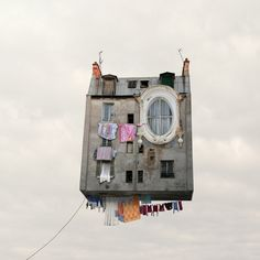 "Laurent Chehere ""Flying Houses"""