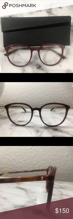 88731010b4 New Dior eyeglasses. New Dior eyeglasses with original case and cleaning  cloth. Red and