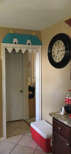 Monster doorway