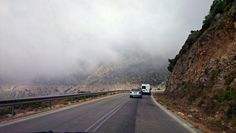 #Driving through the #mist at #Kefalonia