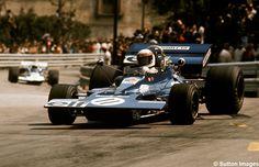 ... Tyrrell 003 con el que se hizo con la victoria en el GP de España de