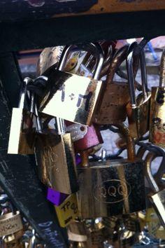 "Our love lock ""M&M"""
