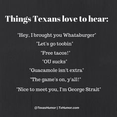Although I'm not a Whataburger fan...born and raised in Texas, so I know there's better...usually transplants are the ones who love Whataburger, in my experience.