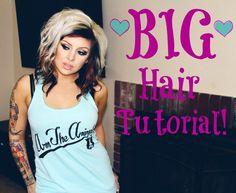 PERFECT Big Hair Tutorial!