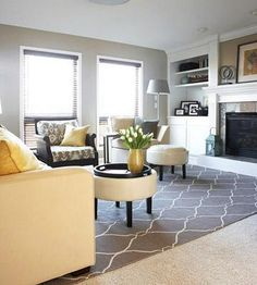 We gave this family room a pretty facelift with do-it-yourself ideas tailored to any budget.