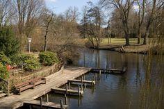 Frühling im Hamburger Stadtpark - F. Runge