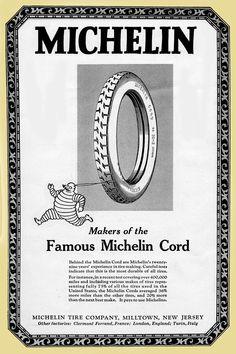 "1924 Michelin ""Bibendum"" Tire Ad"