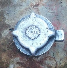 Shell Gas Station, Car Bonnet, Shells, Pumps, Ornaments, Vintage, Conch Shells, Shell Station, Seashells