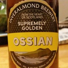 Golden ale. Refreshing. - Drinking a Ossian by Inveralmond Brewery