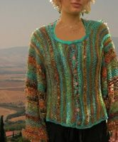 free knitting patterns, yarns and knitting supplies - Jane Thornley Blue Sky Over Sienna