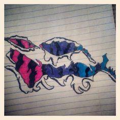 Tiger Stripes, Bi Pride, Tattoo Idea