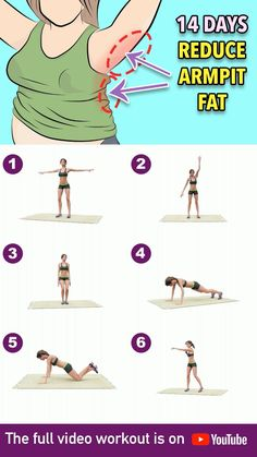 Full Body Gym Workout, Back Fat Workout, Gym Workout Videos, Gym Workout For Beginners, Fitness Workout For Women, Fitness Workouts, Butt Workout, At Home Workouts, Pilates Workout