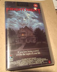Fright Night VHS Tape Cult Classic Horror 1985 RCA Columbia  | eBay Chris Sarandon, Fright Night, Vhs Tapes, Tom Holland, Columbia, Horror, Presents, Classic, Pictures