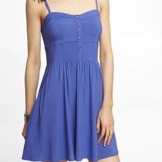 Express Sweetheart Cami Slipdress