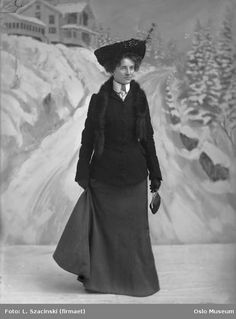 ๑ Nineteen Fourteen ๑ historical happenings, fashion, art & style from a century ago - 1914 winter fashion