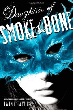Review: Daughter of Smoke and Bone by Laini Taylor http://kelseysclutteredbookshelf.wordpress.com/2012/10/29/review-daughter-of-smoke-and-bone-by-laini-taylor/