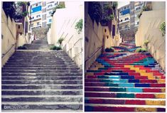 Stunning Staircases: 10 Artist Makeovers That Make the City More Beautiful
